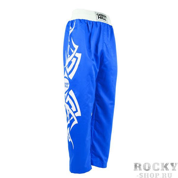 Кикбоксерские штаны MASTER, Синий Green HillСпортивные штаны и шорты<br>Эргономичный крой<br> 100% полиэстер<br> Приятный дизайн<br> Не стесняют движений<br><br>Размер INT: S