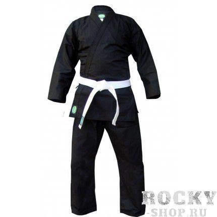 Кимоно для каратэ Green Hill club, черное, 180 см Green HillЭкипировка для Каратэ<br>Материал: ХлопокВиды спорта: КаратэКимоно для занятий карате Club. Материал: 100% хлопок, с поясом. Предназначено для тренировок.<br><br>Цвет: Черный