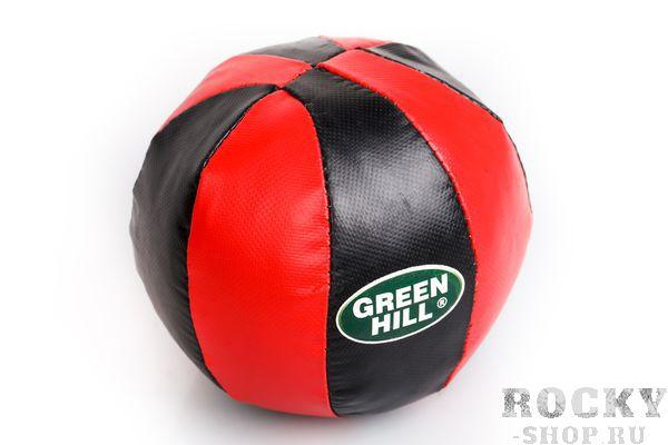 Мяч медицинбол, 1 кг Green HillМедицинболы<br>Медицинбол из искусственной кожи. Предназначен для занятий фитнесом и развития ударной техники.<br>