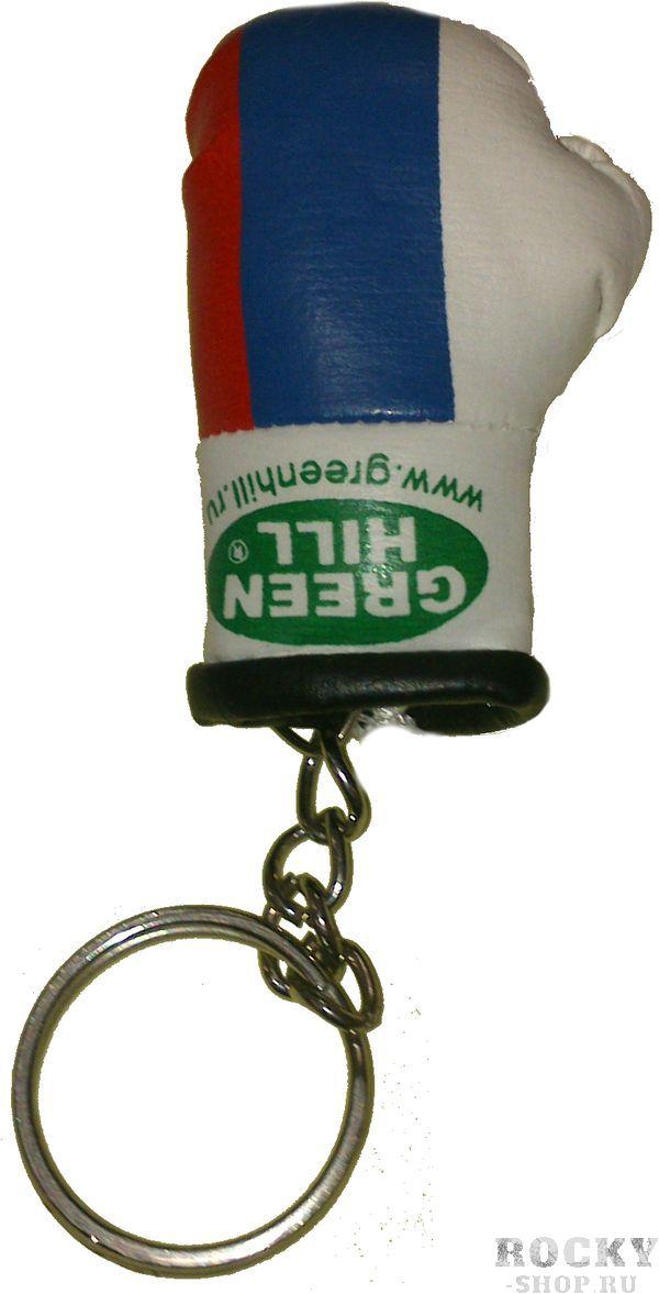 Брелок сувенирный средний Российский флаг Green HillСувенирная продукция<br>Сувенирные перчатки. Материал искусственная кожа.<br>