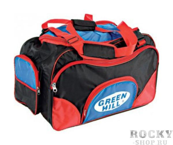 Спортивная сумка Green Hill SB-6422, 22*14*11 Green HillСпортивные сумки и рюкзаки<br>Материал: НейлонВиды спорта: Дзюдо, Таэквондо, Каратэ, Рукопашный бой, Дзюдо, Самбо, БорьбаСумка спортивнаяРазмеры: 22*14*11<br>