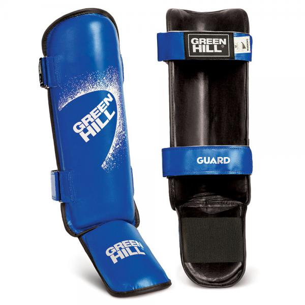 Защита голень + стопа GUARD, размер M, M Green Hill