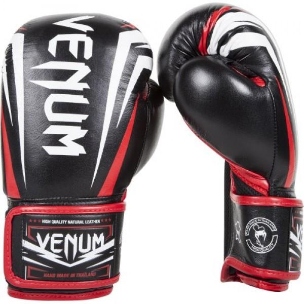 Перчатки боксерские Venum Sharp Nappa Leather Black, 14 унций Venum фото