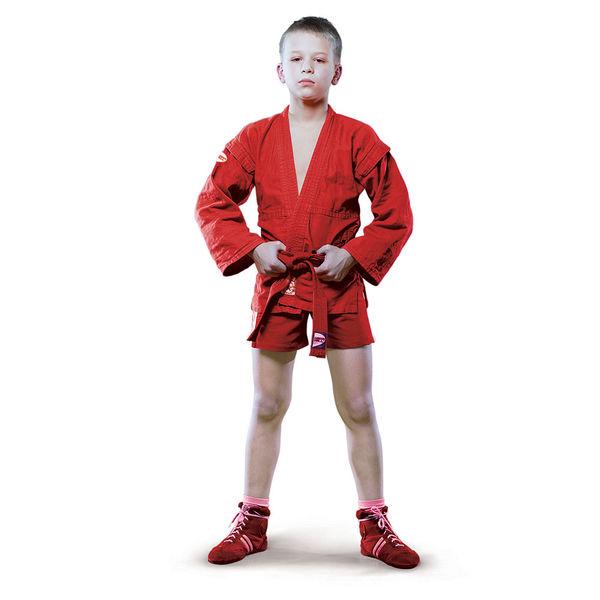 Детская куртка для самбо Green Hill junior, 130 см Green Hill