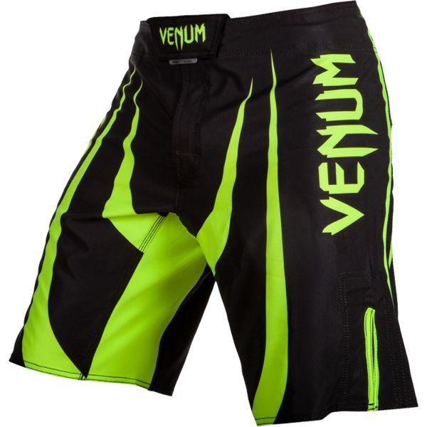 ММА шорты Venum Predator X VenumШорты ММА<br>ММА шорты Venum Predator X. При разработке шорт был учтен весь богатый научный опыт VENUM по созданию бойцовской экипировки ( одежды ММА ). Минималистский, но при этом жёсткий дизайн. Идеально подходят и для тренировочного процесса, и для соревнований даже самого высокого уровня. Материал, использованный для создания бойцовских шорт Venum - это 100% высококачественная легка микрофибра ( полиэстер ). Шорты мма venum очень легкие, но при этом прочные. Благодаря тянущимися материалу, эластичной вставке и боковым разрезам мма шорты Venum не создают никакого дискомфорта бойцу ни в стойке, ни в партере. Крепятся шорты на поясе с помощью липучки и встроенного в пояс шнурка. Рисунок полностью сублимирован в ткань. он не потрескается и не сотрется! Уход: машинная стирка в холодной воде, деликатный отжим, не отбеливать. Состав: 100% полиэстер.<br><br>Размер INT: XL