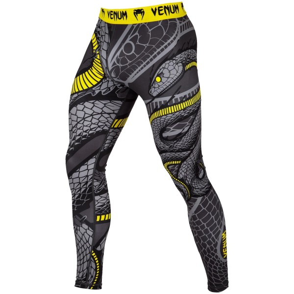 Компрессионные штаны Venum Snaker VenumКомпрессионные штаны / шорты<br>Компрессионные штаны Venum Snaker. С этими компрессионками от Venum вы будете думать только о тренировочном процессе, не отвлекаясь на неприятные ощущения в мышцах ног. Предназначены для улучшения кровообращения в мышцах, что, в свою очередь, способствует уменьшению времени на восстановление полной работоспособности мышцы. Прекрасно сидят на любом теле, хорошо тянутся, абсолютно НЕ сковывают движения. Очень приятная на ощупь ткань. Штаны Venum достаточно быстро сохнут. Плоские швы не натирают кожу. Предназначены для занятий самыми различными единоборствами, кроссфитом, фитнесом, железным спортом и т. д. . Уход: Машинная стирка в холодной воде, деликатный отжим, не отбеливать.<br><br>Размер INT: M
