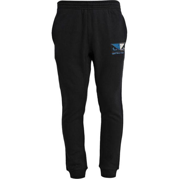 Спортивные штаны Bad Boy Urban Division Bad BoyСпортивные штаны и шорты<br>Спортивные штаны Bad Boy Urban Division. Плотные спортивные штаны с начесом от Bad Boy. Присутствуют два боковых кармана и на штанах. Брюки удерживаются на поясе резинкой со спрятанным внутрь шнурком. Состав: хлопок и спандекс.<br><br>Размер INT: XXL