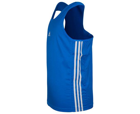 Майка боксерская Micro Diamond Boxing Top, синяя Adidas (adiBTT01)