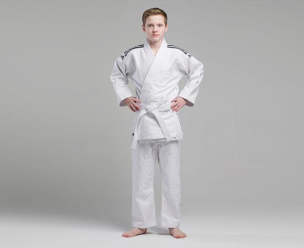 Кимоно для дзюдо Training белое, 160 см Adidas (J500)