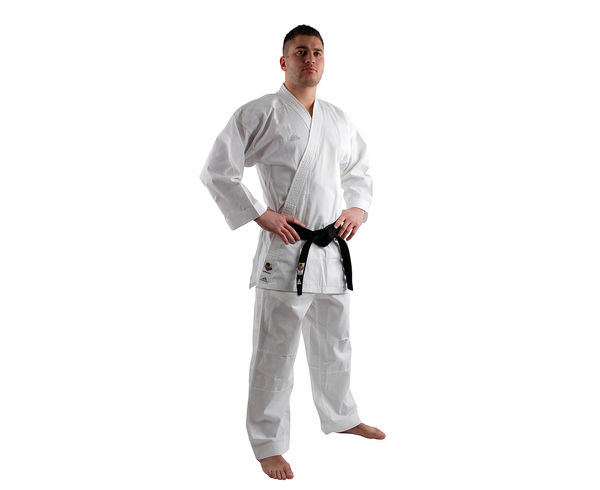 Кимоно для карате Kumite Fighter WKF белое, 180 см Adidas (K220KF)