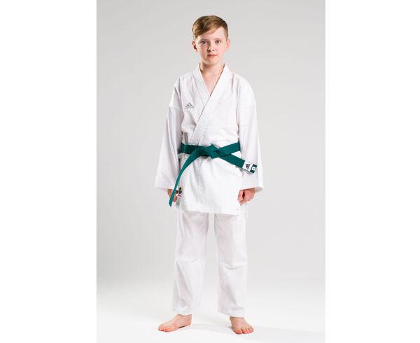 Кимоно для карате Kumite WKF белое, 195 см Adidas (K220SK)