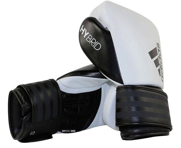 Перчатки боксерские Hybrid 200, 18 унций Adidas фото