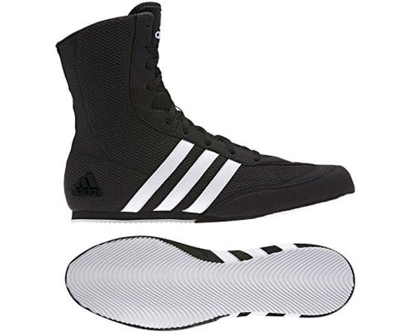 Боксерки Box Hog 2 черно-белые Adidas