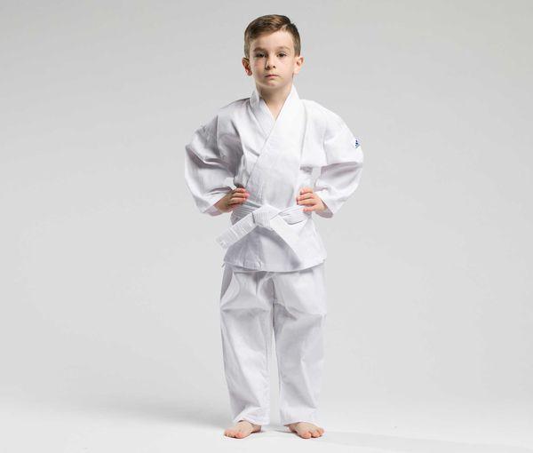 Кимоно для карате детское с поясом adiStart , белое Adidas