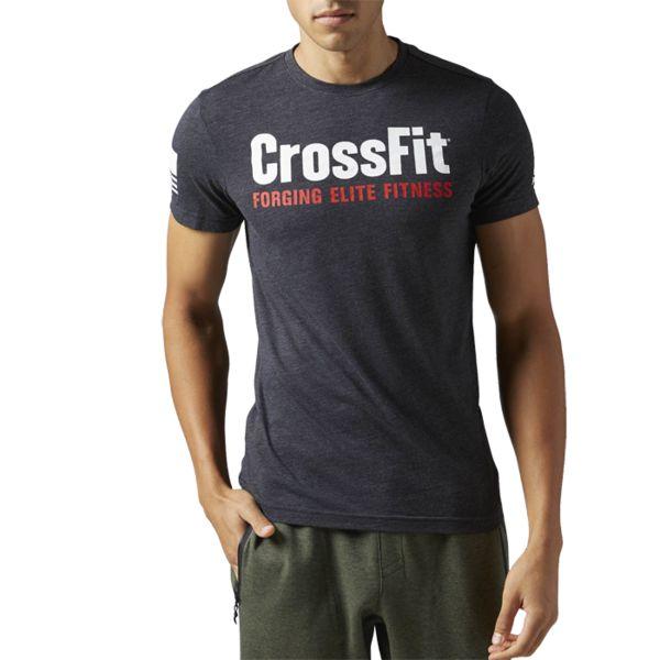 Спортивная футболка Reebok CrossFit Forging Elite Fitness ReebokФутболки<br>Спортивная футболка Reebok CrossFit Forging Elite Fitness. Уход: машинная стирка в холодной воде, деликатный отжим, не отбеливать. &gt;<br><br>Размер INT: XL