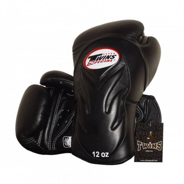 Перчатки боксерские Twins BGVL-6 Black, 16 унций  Twins Special