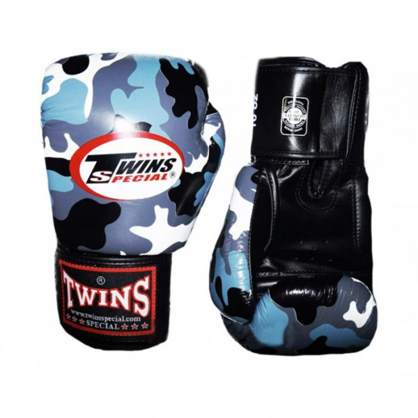 Перчатки боксерские Twins FBGV-UG, 16 унций  Twins SpecialБоксерские перчатки<br>Перчатки боксерскиеTwins FBGV-UGпрекрасно подойдут для тайского бокса, кикбоксинга или классического бокса. Особенности:- Натуральная кожа высшего качества- Удобная застежка на липучке- Идеальное соотношение цена/качество- Фиксированный большой палец- Внутренний материал из многослойной высококачественной пены- Ручная работа- Страна производитель: Тайланд<br>