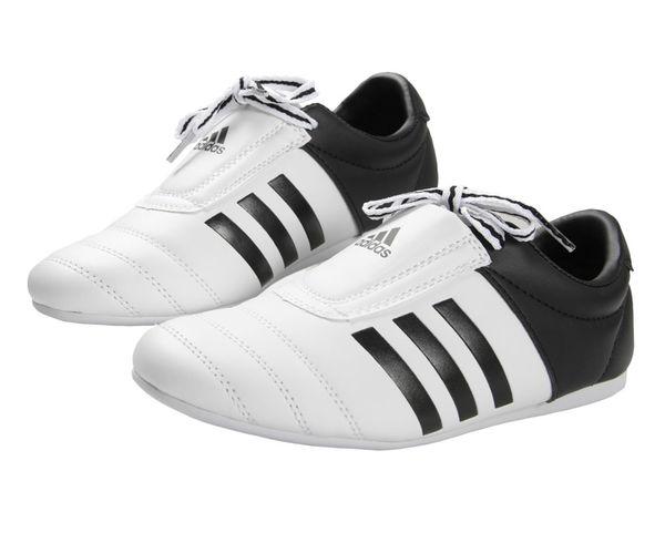 Степки для тхэквондо Adi-Kick 2, бело-черные Adidas