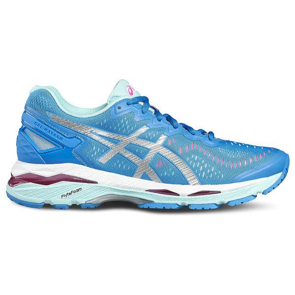 Кроссовки беговые женские Asics t696n 4393 gel-kayano 23 AsicsКроссовки<br>Беговые кроссовки ASICS T696N 4393 GEL-KAYANO 23 ASICS GEL-KAYANO 23 - одна из самых известных моделей в мире беговых кроссовок, 23 серия легендарных кроссовок, в которых сочетается высокий уровень амортизации и стабилизации. Данная модель, как и вся линия, идеально подойдет для спортсменов с большим весом, нейтральной или избыточной пронацией (пятка прилегает к поверхности всей площадью)Революционный материал промежуточной подошвы Flytefoam перешел в новую модель из концепта Asics Metarun. Flytefoam – это запатентованный материал, который на 55% легче, чем стандартные пенные композиты, используемые в других кроссовках. Несмотря на свою легкость, новая пена также отлично справляется с рассеиванием ударной нагрузки. Внедренные органические волокна позволяют межподошве мгновенно восстанавливаться к первоначальной форме после каждого шага. Вставка из пены двойной плотности Dynamic Duomax имеет специальную форму для адаптации к движению стопы во время бега. Она интегрирована с пластиковым элементом Trusstic для обеспечения уверенности и стабильности каждого шага. Конструкторы изменили форму фирменного силикона Gel и расположили его выше в слоях пены для более эффективного переката с пятки на носок. Оптимизация конструкции верха также поспособствовала снижению веса кроссовок и улучшению их посадки на ногах. Двухслойная сетка с различной плотностью плетения уменьшает трение между стопой и верхом и обволакивает ее подобно носку. Комбинация открытых и закрытых переплетающихся узоров оптимизирует гибкость верха и его воздухопроницаемость. Обновленная конструкция экзоскелетного зажима пятки дает стабильность для костей лодыжки во время бега. Новая версия модели ASICS GEL-KAYANO 23 получила множество обновлений с целью снижения веса обуви без ущерба для амортизации и стабильности. Технологии, использованные в модели ASICS GEL-KAYANO 23:•I. G. S. (Impact Guidance System). Система распределения удара. Фил