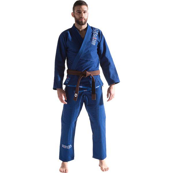 Кимоно для бжж Grips Primero Evo Royal Blue Grips Athletics (grpbjjk031)