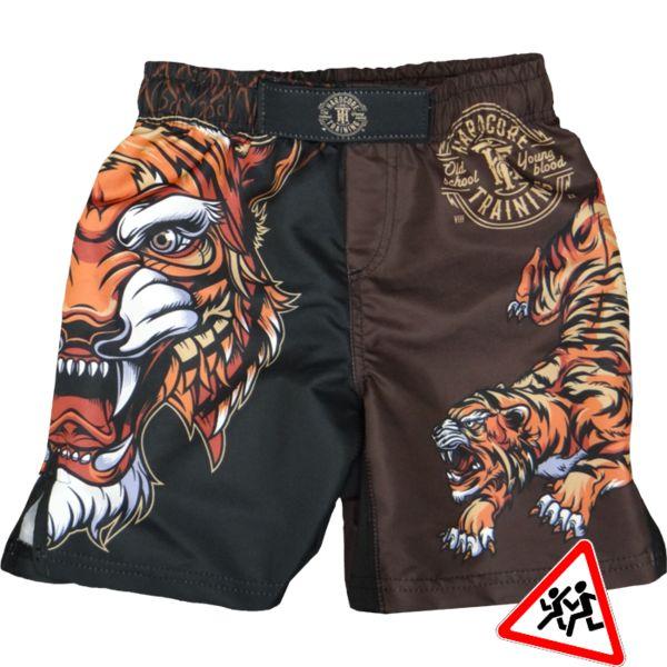 Детские шорты Hardcore Training Tiger Hardcore Training (hctshorts023)