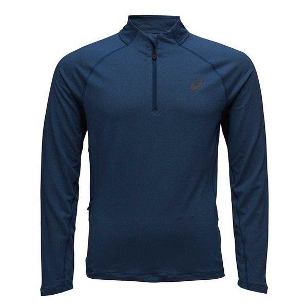 Беговая рубашка Asics 132106 8151 ls 1/2 zip jersey  AsicsТолстовки / Олимпийки<br>Беговая рубашка ASICS 132106 8151 LS 1/2 ZIP JERSEY•Воздухопроницаемая беговая рубашка защитит вас от холода и не стеснит ваши движения во время занятия спортом. •Мягкий материал, в состав которго входит полиэстер и эластан, благодаря технологии Motion Dry позволяет удалять лишнюю влагу с кожи, обеспечивая тем самым комфортные ощущения. •Задний карман на молнии удобен для хранения необходимой повседневной мелочи. •Светоотражающие элементы для повышения уровня безопасности передвижения в темное время суток.<br><br>Размер INT: 2XL