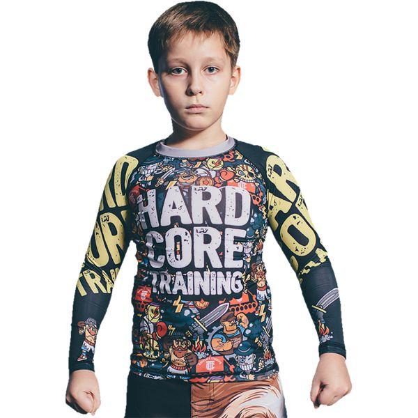 Детский рашгард Hardcore Training Doodles Hardcore Training (hctrash0103)