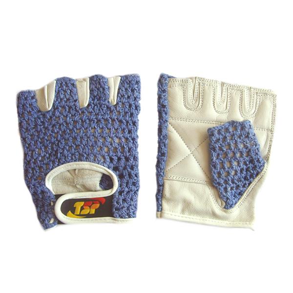Перчатки для фитнеса, женские, Синие TSPПерчатки для фитнеса<br>Доступные женские перчатки для фитнеса. <br> Наружная часть в виде хлопковой сетки<br> Ладонная часть перчатки из кожи премиального качества<br> Дополнительные накладки на ладони и пальцах<br> Усиленные швы<br> Доступная цена<br><br>Размер: Размер S