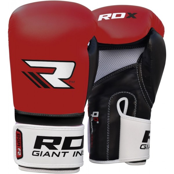 Перчатки боксерские RDX Rex Red, 12 унций RDX