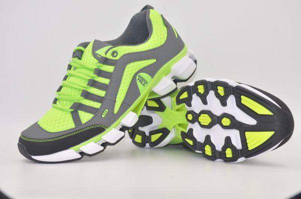 Кроссовки Green Hill a-298m, темно-серые с неоновым желтым Green HillКроссовки<br>Модель изготовлена из качественного материала практичной расцветки. Подходят как для занятий спортом, так и для повседневной носки. Материал: искусственная кожа, синтетическая сетка.<br><br>Размер INT: 36