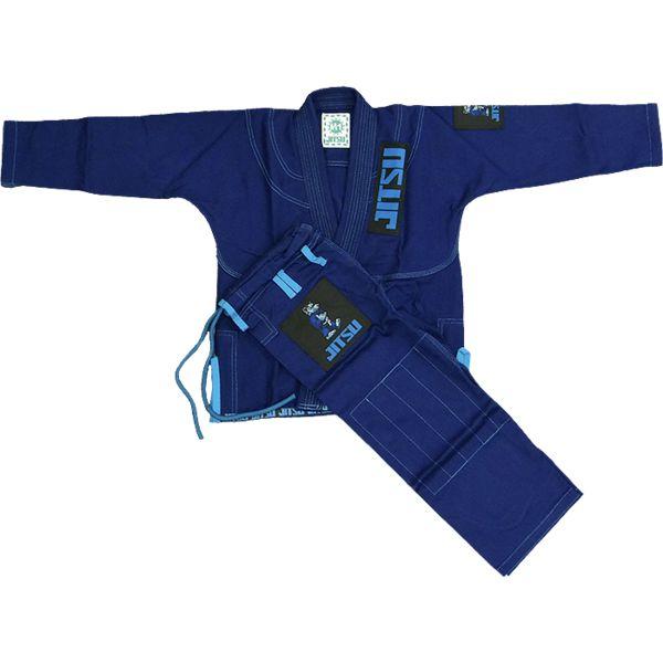 Детское ги для БЖЖ Jitsu Wolf JitsuЭкипировка для Джиу-джитсу<br>Детское ги для БЖЖ Jitsu Wolf. Ги, отвечающее высоким стандартам качества. Кимоно отлично подойдет как для тренировок, так и для соревнований. Особенности кимоно: • Куртка сделана из 1 куска 100% хлопка плотностью 350 г/кв. м. ; • Тип плетения - жемчужный; • Кимоно усажено, но небольшая усадка возможна; • Пояс приобретается отдельно. Состав: 100% хлопок.<br><br>Размер: M0