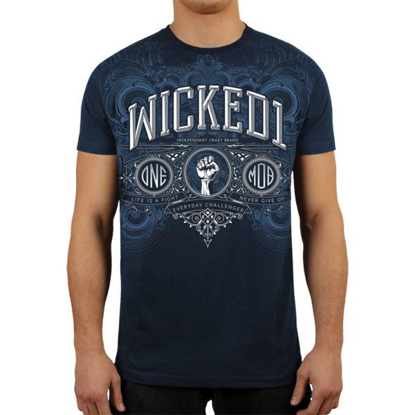 Футболка Wicked One Premium Wicked OneФутболки<br>Футболка Wicked One Premium. - Хлопок 200 грамм. Уход: машинная стирка, не отбеливать, деликатный отжим. Состав: 100% хлопок.<br><br>Размер INT: S