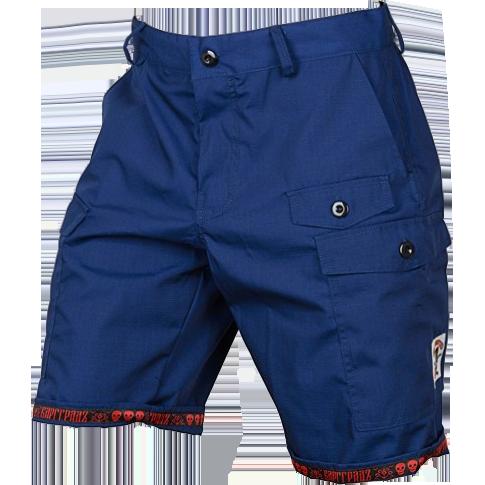 Шорты-карго Варгградъ ВаргградСпортивные штаны и шорты<br>Шорты карго Варгградъ. На шортах расположено множество карманов. Шнуры-регуляторы вставлены в пояс и нижнюю кромку шорт. Уход: машинная стирка в холодной воде, деликатный отжим, не отбеливать.<br><br>Размер INT: M