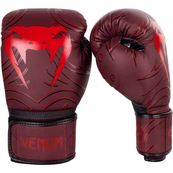 Боксерские перчатки Venum Nightcrawler Red, 12 oz Venum (PSd-venboxglove085)