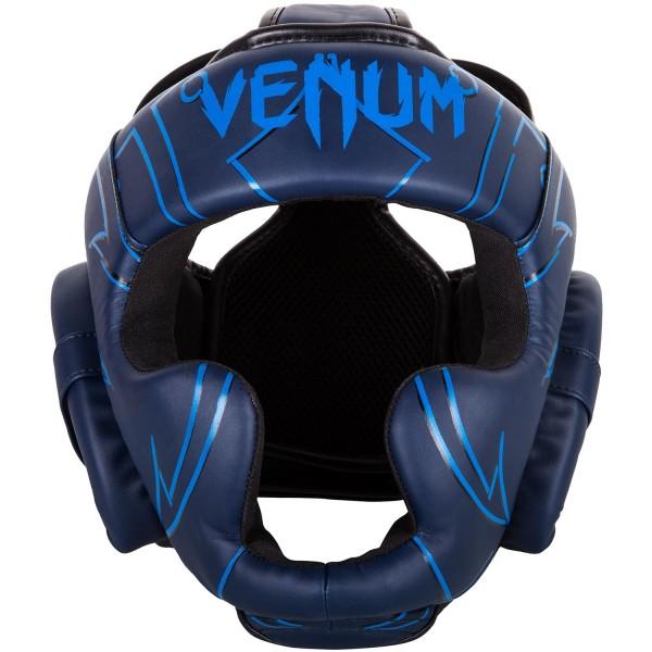 Боксерский шлем Venum Nightcrawler Navy Blue Venum (PSd-venbprhel035)
