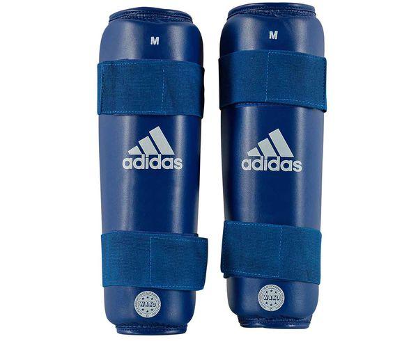 Защита голени WAKO Kickboxing Shin Guards синяя Adidas