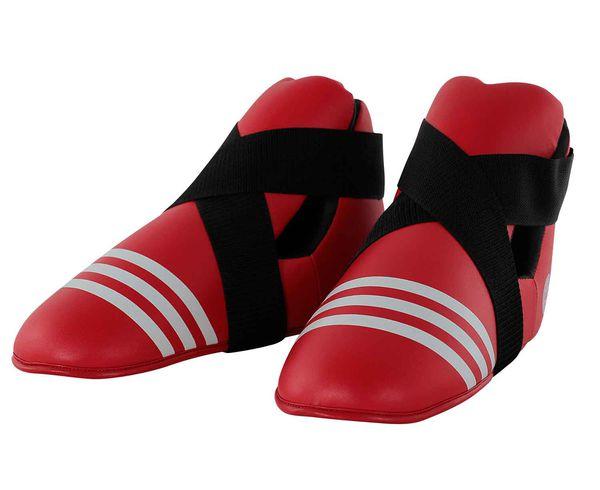 Защита стопы WAKO Kickboxing Safety Boots красная Adidas (adiWAKOB01)