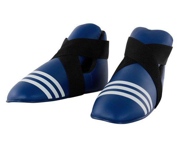 Защита стопы WAKO Kickboxing Safety Boots синяя Adidas (adiWAKOB01)