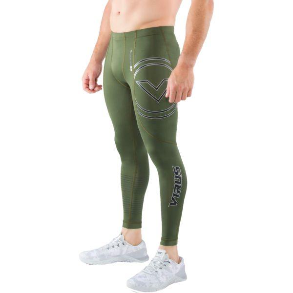 Компрессионные штаны Virus Stay Cool RX7-V3 VirusКомпрессионные штаны / шорты<br>Компрессионные штаны Virus Stay Cool RX7-V3. Специальная серия для грэпплинга с использованием более прочных материалов! Особая форма штанов распределяет давление равномерно на все части ног, что поддерживает все ваши мышцы в тонусе на протяжении тренировки! Миллионы микроканальцев и ткань с добавлением нефрита обеспечивают комфортную температуру и умеренную влажность вашего тела. COOL JADE – это технология, созданная для того, чтобы снизить температуру кожной поверхности при наиболее высоких температурах. Результат применения этой технологии – снижение температуры тела примерно на 2 градуса. Все дело в использовании стружки нефрита! Этот минерал используется в ювелирном деле уже несколько веков и не наносит ни малейшего вреда коже. Могут использоваться как под одеждой, так и без нее. Хорошо подходят для тренировок в зале и для уличных тренировок. Предназначены для занятий самыми различными единоборствами, кроссфитом, фитнесом, железным спортом и т. д. . Уход: машинная стирка в холодной воде, деликатный отжим, не отбеливать.<br><br>Размер INT: S
