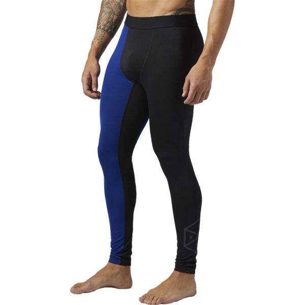 Компрессионные леггинсы Reebok 3/4 ReebokКомпрессионные штаны / шорты<br>Компрессионные брюки Reebok 3/4. Подари утомленным мышцам необходимую поддержку. Высокоэластичный компрессионный материал сохраняет и возвращает энергию при их растяжении и сокращении во время физической активности. Технология Speedwick способствует эффективному отводу влаги, а плоские швы предотвращают натирание. Материал: 86% полиэстер / 14% эластан, одинарное джерси для прочности и эластичности. Идеально для беговых и высокоинтенсивных тренировок. Уникальная технология ACTIVCHILL гарантирует непревзойденную вентиляцию и возможность добиваться большего вне зависимости от вида тренировок. Плоские швы сведут к минимуму риск натирания. Мягкий эластичный пояс для оптимальной посадки. Уход: машинная стирка в холодной воде, деликатный отжим, не отбеливать.<br><br>Размер INT: M