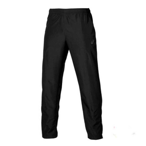 Беговые брюки Asics 134101 0904 woven pant  AsicsСпортивные штаны и шорты<br>Беговые брюки ASICS 134101 0904 WOVEN PANT•Мужские брюки от компании ASICS отлично подойдут для пробежек и повседневной носки. •Данная модель выполнена из высококачественного материала, который обеспечивает отличную вентиляцию и имеет хорошую износостойкость. •На талии имеется удобная эластичная резинка, которая не позволит штанам сползать. •Брюки имеют боковые карманы, а также молнии на задней части штанин, благодаря чему брюки легко снимать и надевать.<br><br>Размер INT: M