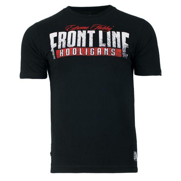 Футболка frontline (красный), черный Extreme Hobby