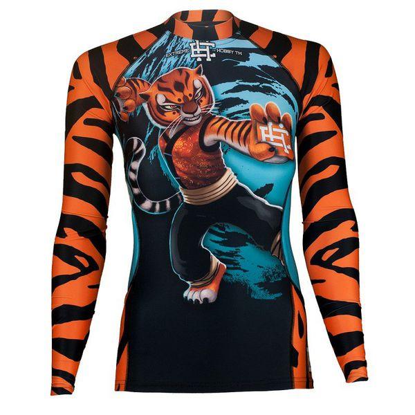 Рашгард с длинным рукавом женский tigress Extreme Hobby