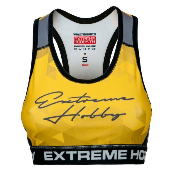 Топ женский rapid (желтый) Extreme Hobby