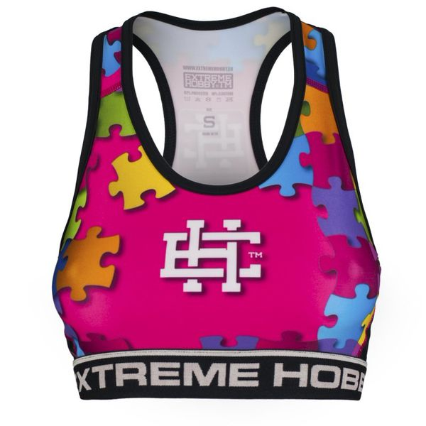 Топ женский puzzle (розовый) Extreme Hobby