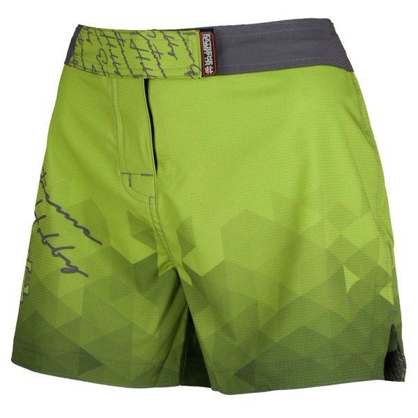 Шорты спортивные женские rapid (зеленый) Extreme HobbyСпортивные штаны и шорты<br>Ультралегкие женские шорты, изготовленные по спец технологии сплетения полиэфирного волокна с техникой рип-стоп . Чрезвычайно прочные с очень низкой поверхностной плотностью. Эластичная ткань обеспечивает свободу движений во время интенсивных тренировок . Шорты приятны на ощупь. Не впитывают влагу и не теряют цвет из-за УФ-излучения (рисунки не выцветают на солнце). <br>КОЛЛЕКЦИЯ: SPORT<br>ЦВЕТ: ЗЕЛЕНЫЙ<br>МАТЕРИАЛ: 82% ПОЛИЭСТЕР 18% ЭЛАСТАН<br><br>Размер INT: L