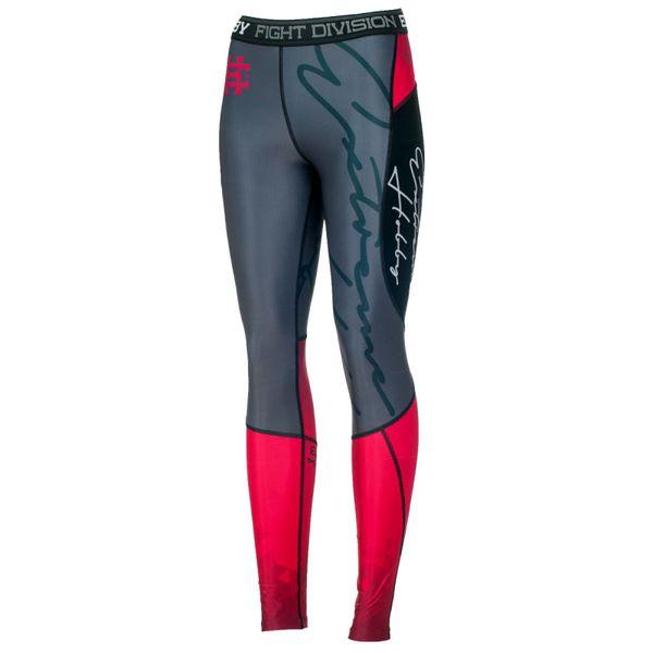 Штаны компрессионные женские rapid (малиновый) Extreme HobbyКомпрессионные штаны / шорты<br>Леггинсы изготовлены из высококачественного материала. Водоотталкивающая ткань оставляет тело сухим, а мыщцы разогретыми. Логотипы нанесены по технологии сублимации, благодаря чему рисунок не трескается и не царапает тело. Специальная резинка на талии предотвращает соскальзываение во время боя.<br><br>Размер INT: M