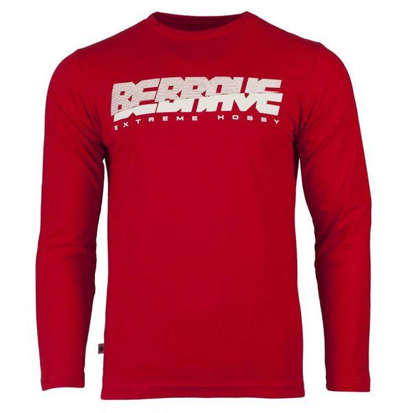 Лонгслив be brave (красный) Extreme Hobby