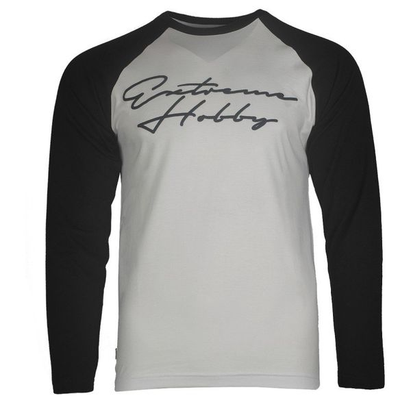 Лонгслив rapid signature (бело-черный) Extreme Hobby