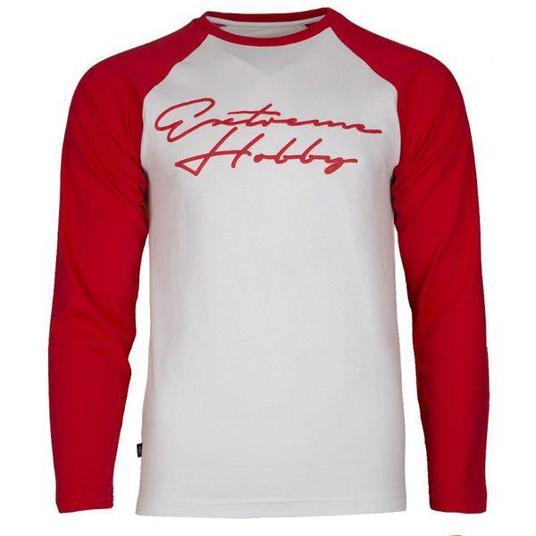 Лонгслив rapid signature (бело-красный) Extreme Hobby